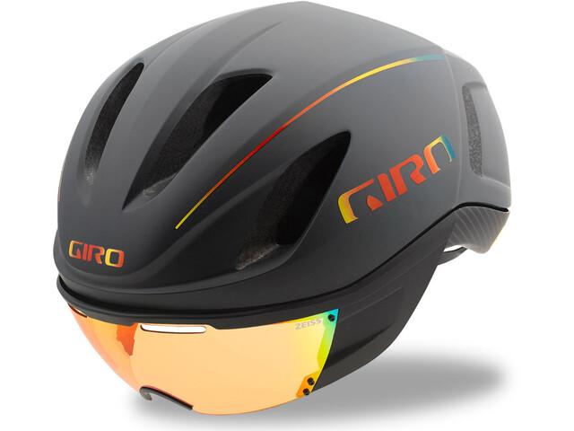 Giro Vanquish MIPS Helmet Matte Grey Firechrome